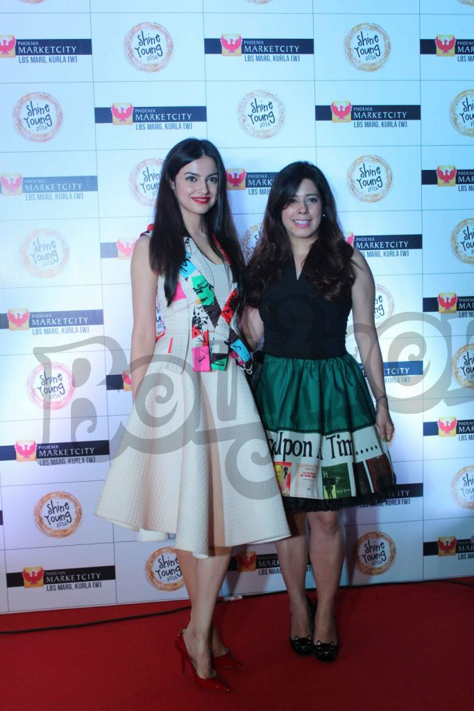 divya-khosla-with-priya-kumar-at-young-shine-2016-launch