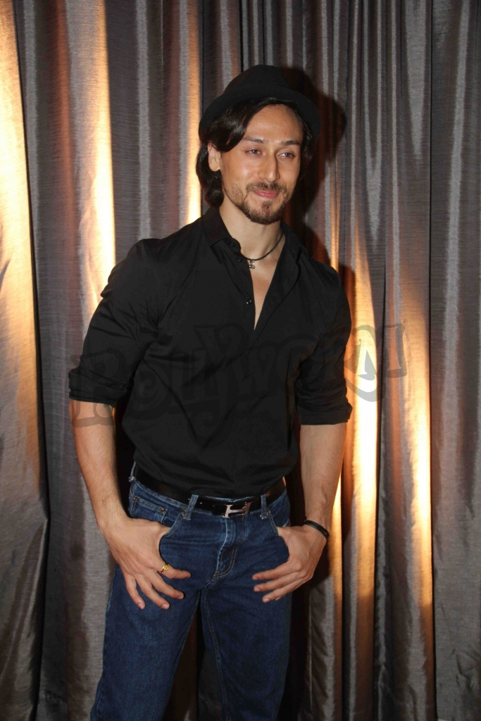 Bollywood actor Tiger Shroff during an event where bollywood filmmaker Sajid Nadiadwala was conferred with an insignia of 'Chevalier des Arts et des Lettres' by Alexandre Ziegler, The Ambassador of France in Mumbai, India on September 21, 2016. (Utsav Devdutta/SOLARIS IMAGES)