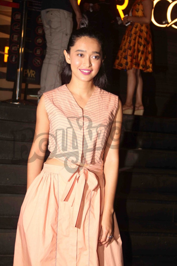 Bollywood actor Sayani Gupta during the screening of film Parched in Mumbai, India on September 24, 2016. tsav Devdutta/SOLARIS IMAGES)