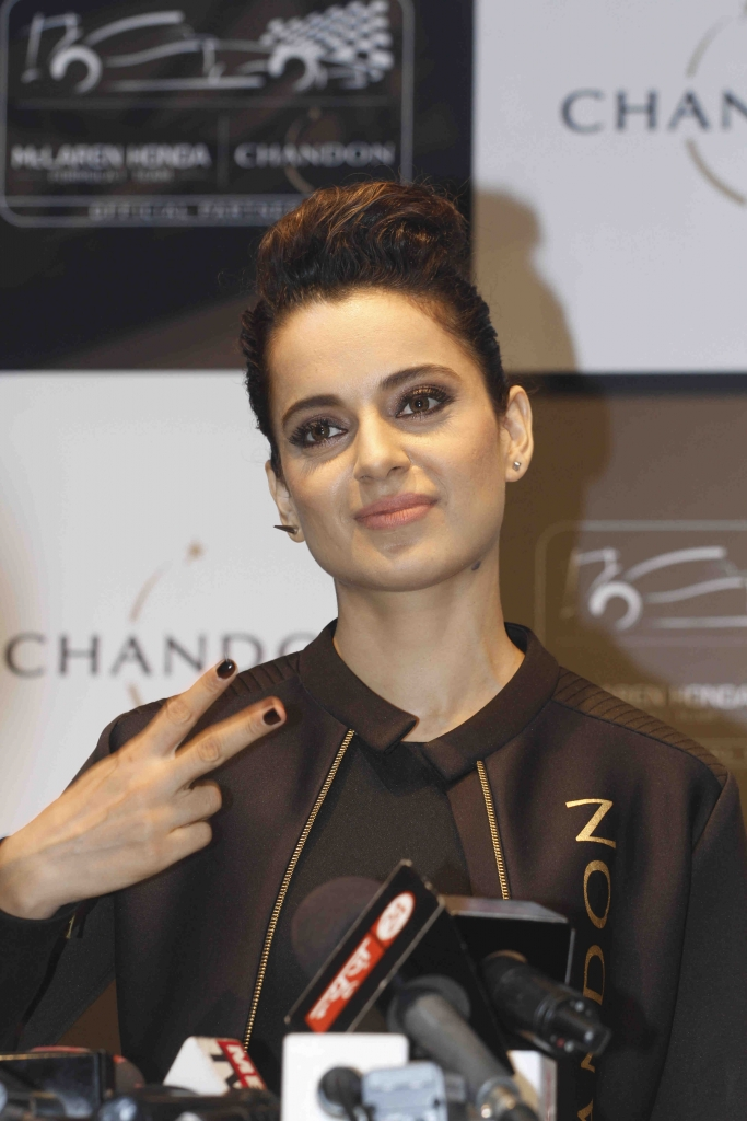 Bollywood actor Kangana Ranaut