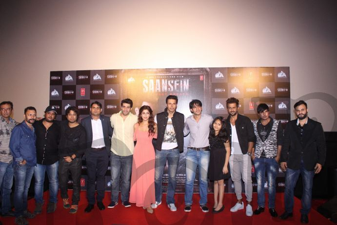 javed-ram-rajiv-vivekgoutamvishalsonarika-rajneesh-hiten-sachi-aamir-dalviaman-mehul-mehul-gadni-at-the-trailer-launch-of-saansein-the-last-breather