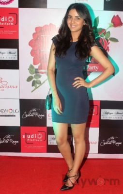 Jasmin Bhasin at Fashion Designer Ashfaque Ahmed's fashion show held at The White Room, Andheri