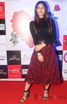 Karishma Sharma at Fashion Designer Ashfaque Ahmed's fashion show held at The White Room, Andheri