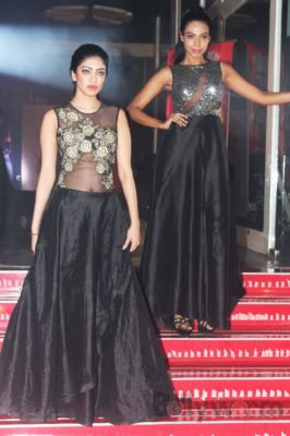 Models walk the ramp for Fashion Designer Ashfaque Ahmed at The White Room, Andheri.4