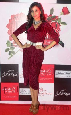 Ronica attends Fashion Designer Ashfaque Ahmed's latest collections fashion show at The White Room Lounge in Mumbai