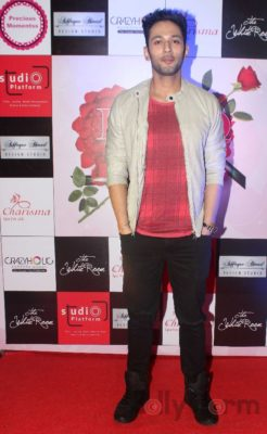Sahil Anand at Fashion Designer Ashfaque Ahmed's fashion show held at The White Room, Andheri