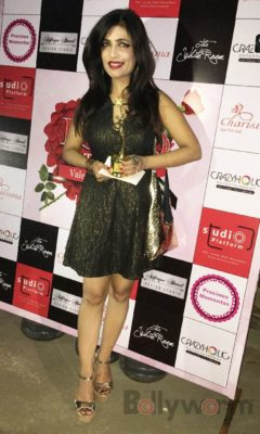 Shibani Kashyap at Fashion Designer Ashfaque Ahmed's fashion show held at The White Room, Andheri