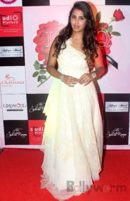 Shreya at Fashion Designer Ashfaque Ahmed's fashion show held at The White Room, Andheri
