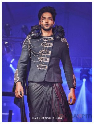 7. Models wearing Designer Rohit Verma Grave Yard Collection at India Luxury Style Week_bollyworm