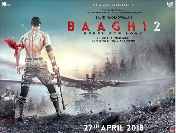 'Baaghi 2' to release in April 2018