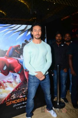 Tiger Shroff and Spider-Man Homecoming Press Meet_Bollyworm (1)