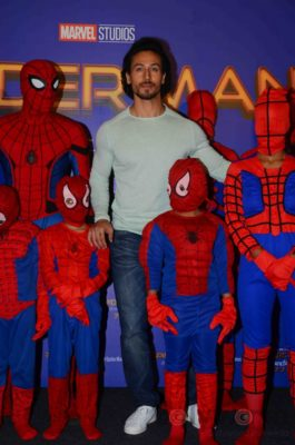 Tiger Shroff and Spider-Man Homecoming Press Meet_Bollyworm (11)
