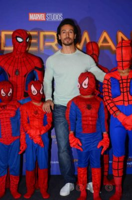 Tiger Shroff and Spider-Man Homecoming Press Meet_Bollyworm (12)