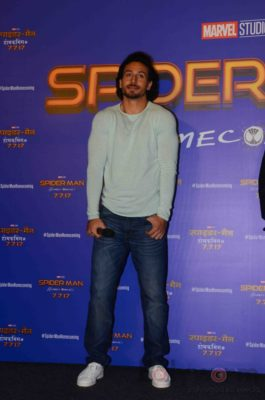 Tiger Shroff and Spider-Man Homecoming Press Meet_Bollyworm (16)