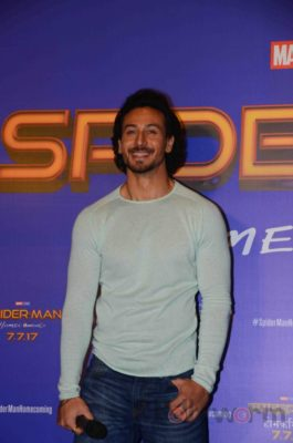 Tiger Shroff and Spider-Man Homecoming Press Meet_Bollyworm (17)