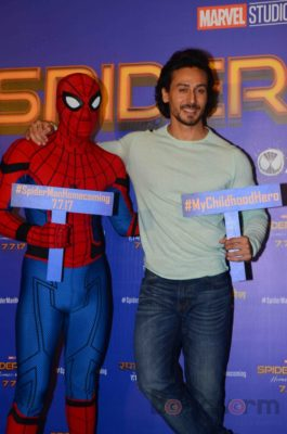 Tiger Shroff and Spider-Man Homecoming Press Meet_Bollyworm (19)