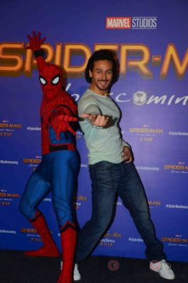 Tiger Shroff and Spider-Man Homecoming Press Meet_Bollyworm (21)
