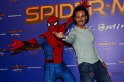 Tiger Shroff and Spider-Man Homecoming Press Meet_Bollyworm (22)