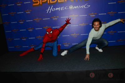Tiger Shroff and Spider-Man Homecoming Press Meet_Bollyworm (23)
