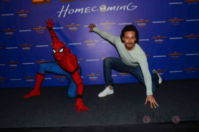 Tiger Shroff and Spider-Man Homecoming Press Meet_Bollyworm (25)