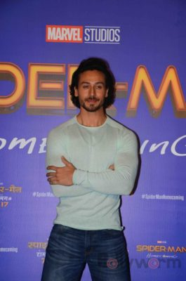 Tiger Shroff and Spider-Man Homecoming Press Meet_Bollyworm (26)