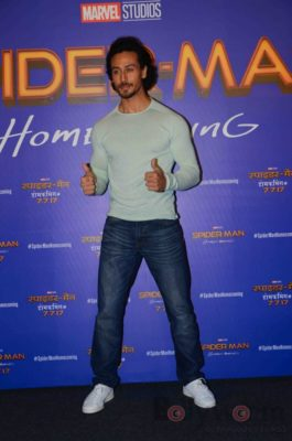 Tiger Shroff and Spider-Man Homecoming Press Meet_Bollyworm (27)