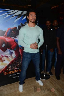 Tiger Shroff and Spider-Man Homecoming Press Meet_Bollyworm (3)