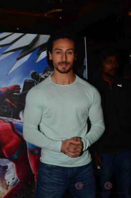Tiger Shroff and Spider-Man Homecoming Press Meet_Bollyworm (4)