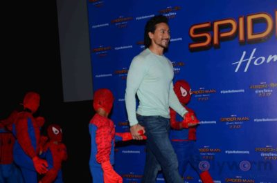Tiger Shroff and Spider-Man Homecoming Press Meet_Bollyworm (5)