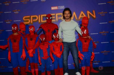 Tiger Shroff and Spider-Man Homecoming Press Meet_Bollyworm (6)