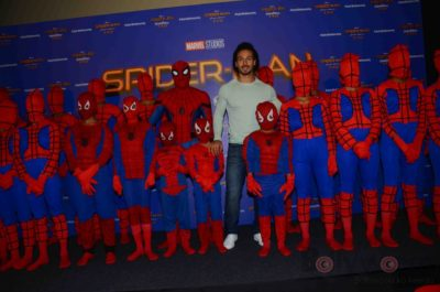 Tiger Shroff and Spider-Man Homecoming Press Meet_Bollyworm (9)