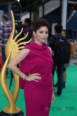 Kanika Kapoor at IIFA Rocks