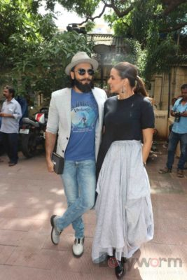 Ranveer Singh and Neha Dhupia record for NoFilterNeha season 2_Bollyworm (17)