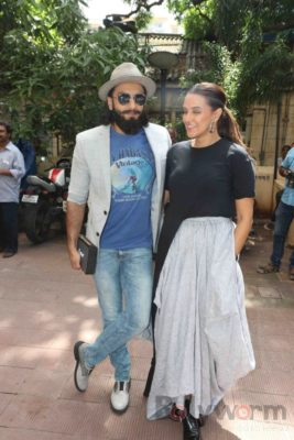 Ranveer Singh and Neha Dhupia record for NoFilterNeha season 2_Bollyworm (18)