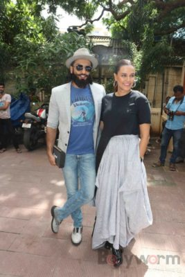 Ranveer Singh and Neha Dhupia record for NoFilterNeha season 2_Bollyworm (19)