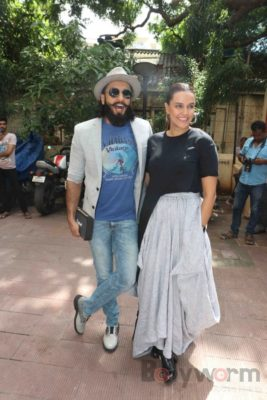 Ranveer Singh and Neha Dhupia record for NoFilterNeha season 2_Bollyworm (20)