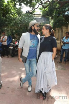 Ranveer Singh and Neha Dhupia record for NoFilterNeha season 2_Bollyworm (21)
