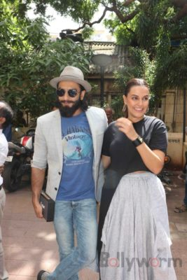 Ranveer Singh and Neha Dhupia record for NoFilterNeha season 2_Bollyworm (22)