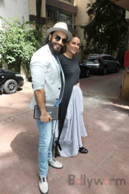 Ranveer Singh and Neha Dhupia record for NoFilterNeha season 2_Bollyworm (25)