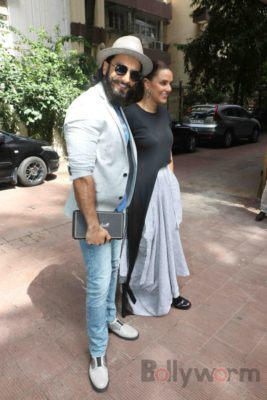 Ranveer Singh and Neha Dhupia record for NoFilterNeha season 2_Bollyworm (26)