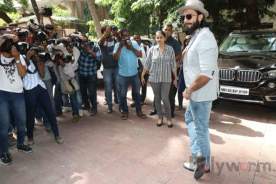 Ranveer Singh and Neha Dhupia record for NoFilterNeha season 2_Bollyworm (29)