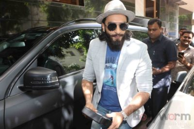 Ranveer Singh and Neha Dhupia record for NoFilterNeha season 2_Bollyworm (3)