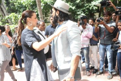Ranveer Singh and Neha Dhupia record for NoFilterNeha season 2_Bollyworm (7)