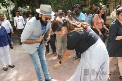 Ranveer Singh and Neha Dhupia record for NoFilterNeha season 2_Bollyworm (8)