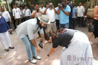 Ranveer Singh and Neha Dhupia record for NoFilterNeha season 2_Bollyworm (9)
