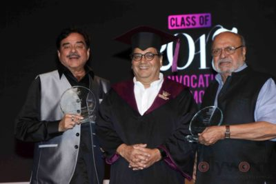 Shatrughan Sinha, Shyam Benegal, Subhash Ghai at the Whistling Woods_Bollyworm (15)