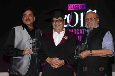 Shatrughan Sinha, Shyam Benegal, Subhash Ghai at the Whistling Woods_Bollyworm (17)