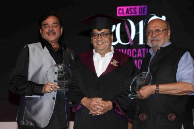 Shatrughan Sinha, Shyam Benegal, Subhash Ghai at the Whistling Woods_Bollyworm (18)
