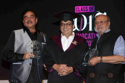 Shatrughan Sinha, Shyam Benegal, Subhash Ghai at the Whistling Woods_Bollyworm (19)