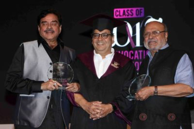 Shatrughan Sinha, Shyam Benegal, Subhash Ghai at the Whistling Woods_Bollyworm (21)
